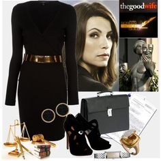 """""""Alicia Florrick, Attorney"""" by bklou on Polyvore"""