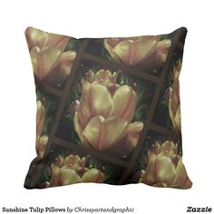 Sunshine Tulip Pillows