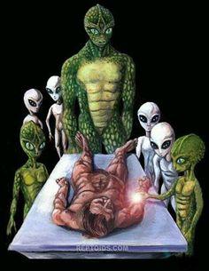 Abduction Reptilian alien grey aliens