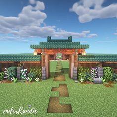 Minecraft Cottage, Cute Minecraft Houses, Minecraft Wall, Minecraft Plans, Amazing Minecraft, Minecraft City, Minecraft Construction, Minecraft House Designs, Minecraft Tutorial