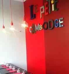 Le Petit Cambodge à Paris, 20 rue Alibert 75010 Asiatic food, lunch, dinner *** €€