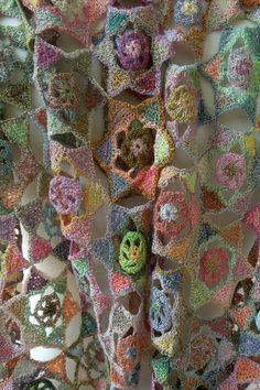 Feuj scarf — Sophie Digard crochet
