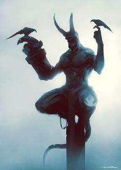 ArtStation - -Hellboy-, ömer tunç