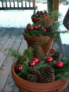 Kerst decoratie (leuk bij de voordeur)