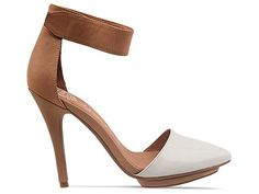 Jeffrey Campbell Solitare in White Patent Nude at Solestruck.com