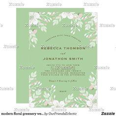 modern floral greenery wedding invitation teal #editableweddinginvitation #editableinvitation #weddinginvitation #tealweddinginvitation #floralweddinginvitation