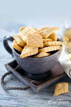 Sour cream salted biscuits