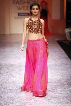 Lehengas by Nachiket Barve http://www.vogue.in/content/how-dress-sangeet#2