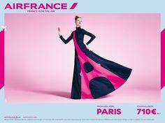 花の都らしさ全開!エールフランスのファッショナブルな2015年春のキャンペーン   AdGang