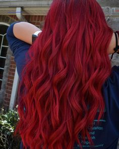 Red Hair Crimson Red Vibrant Bright Fun Hair Color Guy Tang Mydentity Olaplex In. Red Hair Crimson Red Vibrant Bright Fun Hair Color Guy Tang Mydentity Olaplex In Hair Bright Hair Colors, Red Hair Color, Cool Hair Color, Color Red, Ombre Colour, Vibrant Red Hair, Bright Red Hair Dye, Colour Colour, Copper Hair Dye