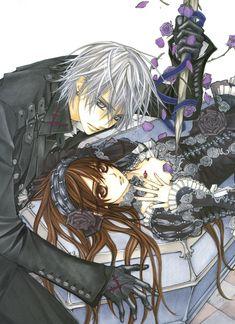 Vampire Knight Yuki's black dress 2