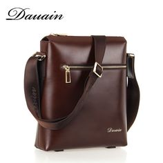 Darwin concise design genuine leather bag for men with easy design and it is made of imported leather.