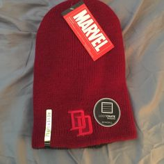 LootCrate Exclusive Daredevil Beanie Brand new with tags beanie from LootCrate. It's reversible, so the inside is grey with the punisher logo! Marvel Accessories Hats