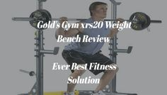 Golds Gym xrs20 Weight Bench Weight Benches, Fun Workouts, Gym, Money, Fitness, Sports, Hs Sports, Sport, Training