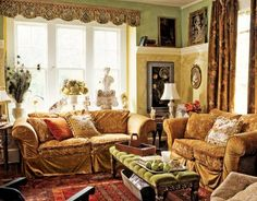 color combinations, wall textures, accents