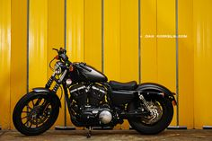 Black Harley sportster