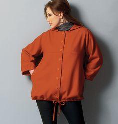 B5931 | Misses'/Women's Jacket | Plus Size | Butterick Patterns