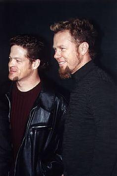 Jason Newsted & James Hetfield
