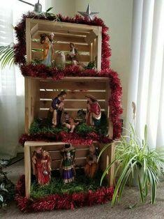 Christmas Manger 2020 300+ Nativity DISPLAYS ideas in 2020 | nativity, christmas