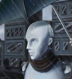 I, Robot I Robot, Deviantart, Statue, World, Big, Conception, Future, Design, Future Tense