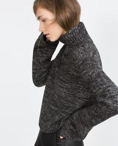 Image 4 of CROPPED SWEATER from Zara
