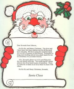 Surprise your child with a special, personalized letter from Santa himself. Our stationery has a picture of Santa ready to come down the chimney and an envelope with the North Pole on it. There are two different versions so please choose from the pictures above! Personalization includes child's name, gender, age, date of letter, hometown, desired gift from Santa, and name of parent, relative or adult friend who is telling Santa the child has been good. www.printcurb.com