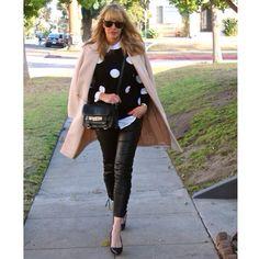 #jenknowsbest #jenandrews #palepink #pink #black #white #monochromatic #leather @Equipment @· ZARA · #isabelmarantpourhm #isabelmarantxhm @Styletag @StyleCaster @Lucky Magazine #streetstyle #style #blog #blogger #fashionblogger www.jenknowsbest.com