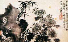 Guo Xu(郭诩) ,   杂画图 上海博物馆藏. 郭诩(1456-约1529),明代画家。字仁弘,号清狂道士,泰和(今属江西)人。少年时为博士弟子,后弃绝功名,专志诗文书画。喜游历,曾遍游名山胜地,画艺大进。擅山水、人物,作品风格呈粗细两种面貌,前者所画多信手勾染,线条粗劲,水墨淋漓,造型简括秀逸,生动传神,画风简逸狂放。后者画法工整,线条圆劲流畅,画风细致俊雅。同时期画家沈周、吴伟、杜堇等,都推重其艺术造谐。有《杂画册》、《琵琶行图》、《东山携妓图》等传世。