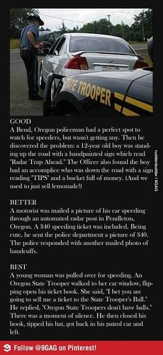 Histoires d'excès de vitesse
