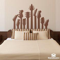 Vinilos Decorativos: Mástiles de guitarra