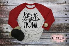 Cute baseball or softball shirt for all ages Baseball Shirts, Graphic Sweatshirt, T Shirt, Softball, Different Styles, Shirt Style, Sweet Home, Sweatshirts, Tees