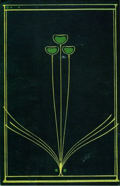 Talwin Morris (1865-1911), designer  H. C. Davidson's The Book of the Home  Source: Euler, The Glasgow Style  An example of the peacock motif shared by the Glasgow designers and the Aesthetic Movement