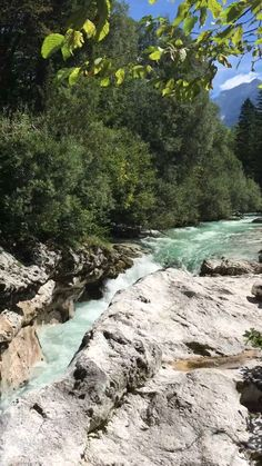 The Soca river in Slovenia The emerald green Soca river is a must see on a trip to Slovenia & it is sooo beautiful! It was such an adventure too& The post The Soca river in Slovenia appeared first on Pink Unicorn. Nature Gif, Nature Photos, Nature Videos, Best Nature Pictures, Beautiful Waterfalls, Beautiful Landscapes, Beautiful Nature Photography, Ocean Photography, Summer Nature Photography