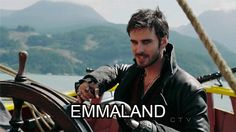 We all thought Hook said Neverland but CLEARLY he meant Emmaland :P
