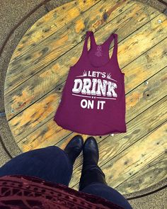 LOVE this country festival tank top! Perfect for Stagecoach.