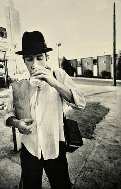 Joe Strummer photographed by Pennie Smith.
