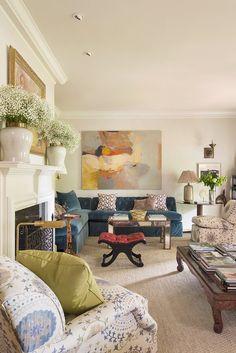 Traditional Living Room \ Matthew Carter