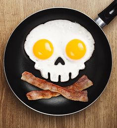 Spooky Egg Mold -  Cholesterol staring you in the face!