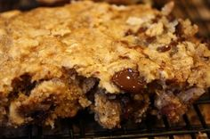 Vegan Almond Joy Cookie Bars by Peas and Thank You