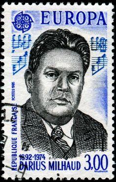 Darius Milhaud stamp- Google Search