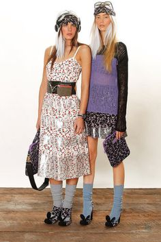 f9d6bcdd332 Marc by Marc Jacobs Resort 2013 Knit Ditsy floral 90s Fashion