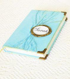 Personalized Leather Journal Diary Turquoise Teal by AnnaKisArt #turquoisediary, #turquoisejournal, #personalizedjournal, #christmasgift, #leatherjournal, #customjournal, #notebook, #giftforwomen, #giftforgirlfriend, #traveljournal, #giftforteen, #writingjournal, #journaldiary, #leathergift, #diary