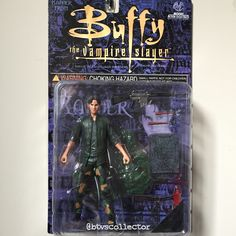 Moore Action Collectibles - Buffy the Vampire Slayer Figure - Previews Exclusive - Military Xander