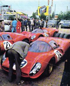 Ferrari 330 p4 Lemans 67 n. 19 Klass- Sutcliffe 0860.jas2