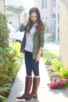 10 Ways to Wear Your Boots This Fall (and 15 Tips to Keep Those Outfits Balanced) - Socks: Socks layered underneath boots can be a cute look for fall and winter, in addition to keeping your tootsies nice and warm. However, adding another line down there at your knee can easily cut the line of your leg up in weird places.