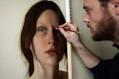 Artista italiano pinta quadros com �qualidade fotogr�fica�