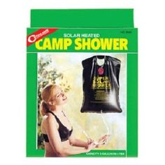 Coghlan's Camp Shower... for quick rinses. So much easier than taking kids in the icky camp showers.