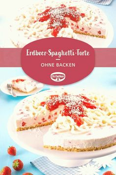 #Easy #baking #dessert #recipes #mit #ohne ErdbeerSpaghettiTorte Eine cremige Torte mit Erdbeeren ohne Backenbrp classfirstletterYou are in the right place about easy baking dessert recipespWhen you use this pen which requires a private size the width and height of the pen are also very important to you We therefore wanted to provide information about this The width of this pin is 1000 br The pin height is determined as 1500You can conveniently use the pen in places where this relationship… Pinterest Dessert Recipes, Apple Dessert Recipes, Easy No Bake Desserts, Apple Recipes, Fun Desserts, Spaghetti Torte, Vanilla Cake, Easy Meals, Cheese
