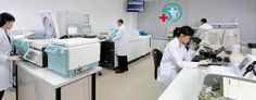 Phòng xét nghiệm: xét nghiệm máu, xét nghiệm nước tiểu, ... Phòng xét nghiệm cao cấp tiêu chuẩn 5 sao Hà Nội. Phòng có trang thiết bị hiện đại, tiên tiến: kết quả xét nghiệm có độ chính xác cao, giúp bác sĩ chẩn đoán chính xác tình hình bệnh nhân.