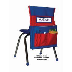 Carson Dellosa Chairback Buddy Blue/Red
